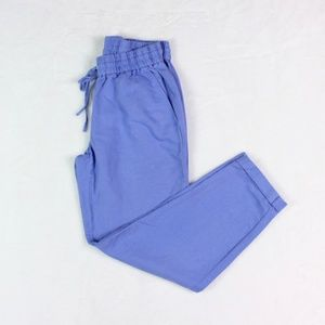J.Crew Women's Linen Cotton Drawstring Pants